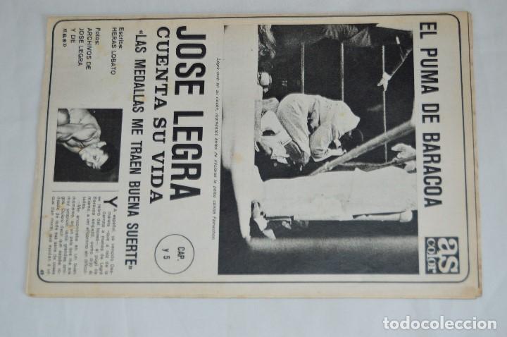 Coleccionismo deportivo: JOSE LEGRA CUENTA SU VIDA - SERIE COMPLETA - 5 CAPÍTULOS - DEL DIARIO AS COLOR - MUY ANTIGUO - Foto 10 - 174230005