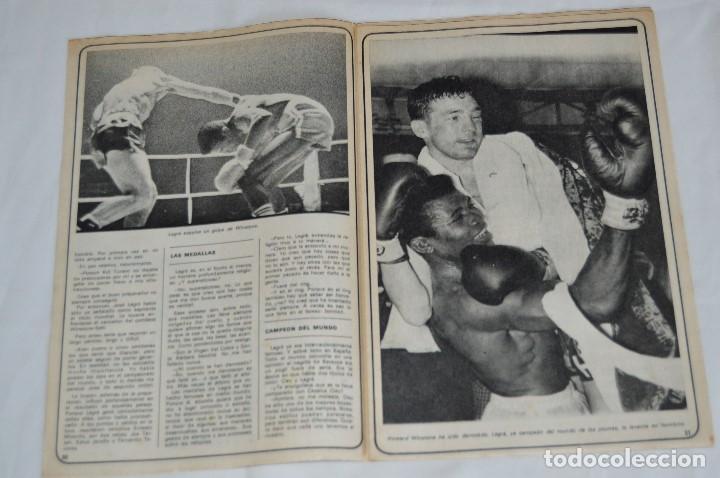 Coleccionismo deportivo: JOSE LEGRA CUENTA SU VIDA - SERIE COMPLETA - 5 CAPÍTULOS - DEL DIARIO AS COLOR - MUY ANTIGUO - Foto 12 - 174230005