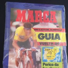 Coleccionismo deportivo: GUIA MARCA DE LA VUELTA CICLISTA A ESPAÑA 89 1989 PERICO DELGADO. Lote 62679200