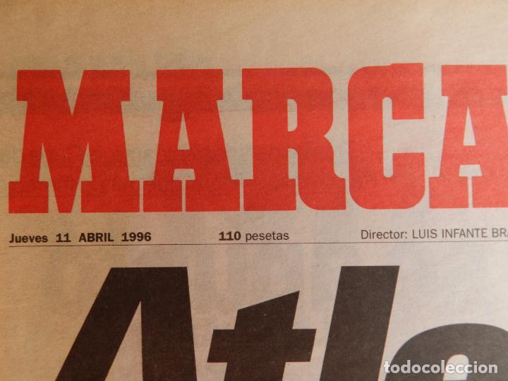 Coleccionismo deportivo: DIARIO MARCA ATLETICO DE MADRID CAMPEON COPA DEL REY 95/96 ATLETI DOBLETE TEMPORADA 1995/1996 - Foto 2 - 62698516