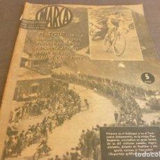 Coleccionismo deportivo: MARCA(9-7-63)ARDE LA PLAZA DE LAS VENTAS!!!!TOUR DE FRANCIA,SALÓN AUTOMOVIL BARCELONA,EL BERRUECO.. Lote 62765208