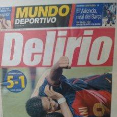 Coleccionismo deportivo: MUNDO DEPORTIVO DELIRIO. Lote 293842953