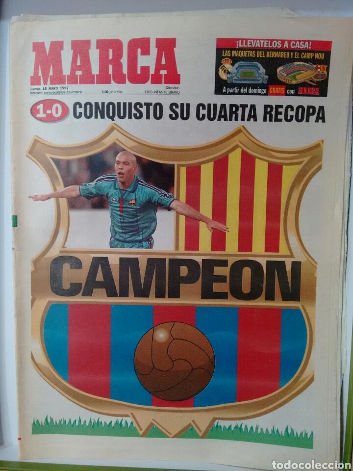 MARCA CONQUISTÓ SU CUARTA RECOPA, CAMPEÓN (Coleccionismo Deportivo - Revistas y Periódicos - Marca)