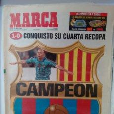 Coleccionismo deportivo: MARCA CONQUISTÓ SU CUARTA RECOPA, CAMPEÓN. Lote 63305207