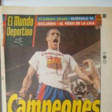 Coleccionismo deportivo: MUNDO DEPORTIVO CAMPEONES. Lote 63308931