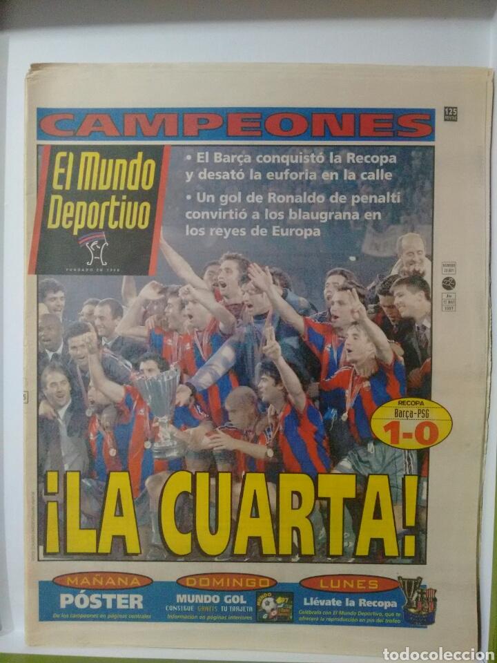 MUNDO DEPORTIVO ¡LA CUARTA! (Coleccionismo Deportivo - Revistas y Periódicos - Mundo Deportivo)