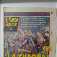 Coleccionismo deportivo: MUNDO DEPORTIVO ¡LA CUARTA!. Lote 63343332