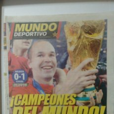 Coleccionismo deportivo: MUNDO DEPORTIVO ¡CAMPEONES DEL MUNDO!. Lote 63352032