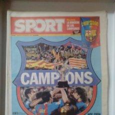 Coleccionismo deportivo: SPORT