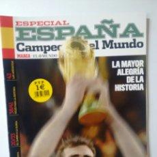 Coleccionismo deportivo: MARCA REVISTA ESPECIAL ESPAÑA CAMPEÓN DEL MUNDO. Lote 63466187