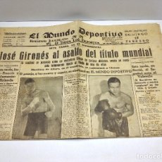Coleccionismo deportivo: MUNDO DEPORTIVO,17 DE FEBRERO DE 1935 Nº4212. Lote 63552856
