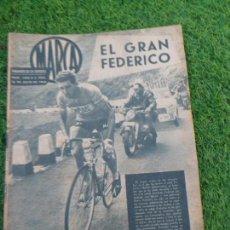 Coleccionismo deportivo: CICLISMO : FEDERICO BAHAMONTES - PREMIO CERVEZAS EL AGUILA - JULIO 1963. Lote 64180775