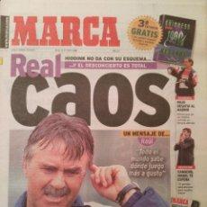 Coleccionismo deportivo: MARCA 6/OCTUBRE/1998 PORTADA HIDDINK. Lote 64326903