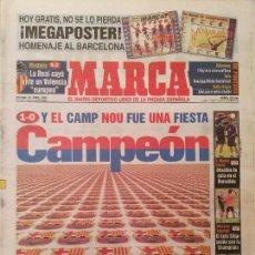 Coleccionismo deportivo: MARCA 19/ABRIL/1998 BARÇA CAMPEON DE LIGA . Lote 64335915