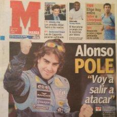 Coleccionismo deportivo: MARCA 10/JULIO/2005 ALONSO POLE. Lote 64346279