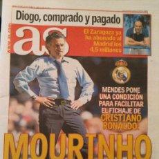 Coleccionismo deportivo: AS 12/ABRIL/2007 MOURINHO. Lote 64349963