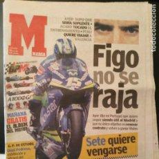 Coleccionismo deportivo: MARCA 16/ABRIL/2005 FIGO NO SE RAJA   SETE MOTOCICLISMO. Lote 64355571