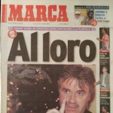 Coleccionismo deportivo: MARCA 27/DICIEMBRE/1998 AL LORO, HIDDINK. Lote 64373075