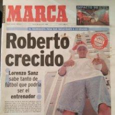 Coleccionismo deportivo: MARCA 26/DICIEMBRE/1998 ROBERTO CARLOS PORTADA. Lote 64373119