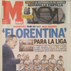 Coleccionismo deportivo: MARCA 1/MAYO/2004 PREVIA DEPORTIVO - REAL MADRID. Lote 64374359