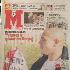 Coleccionismo deportivo: MARCA 7/DICIEMBRE/2004 ROBERTO CARLOS PORTADA. Lote 64376099