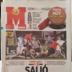 Coleccionismo deportivo: MARCA 13/JUNIO/2004 ESPAÑA 1 - RUSIA 0 - EUROCOPA PORTUGAL. Lote 64377639
