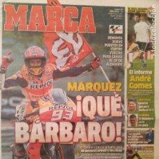 Coleccionismo deportivo: MARCA 18/JULIO/2016 MARQUEZ QUE BARBARO | GP DE ALEMANIA. Lote 64394027