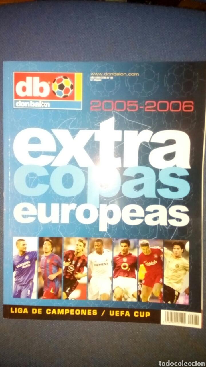 DON BALON EXTRA COPAS EUROPEAS 2005 2006 NUMERO 82 (Coleccionismo Deportivo - Revistas y Periódicos - Don Balón)