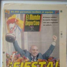 Coleccionismo deportivo: MUNDO DEPORTIVO ¡FIESTA!. Lote 64833406