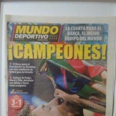 Coleccionismo deportivo: MUNDO DEPORTIVO ¡CAMPEONES!. Lote 64841138