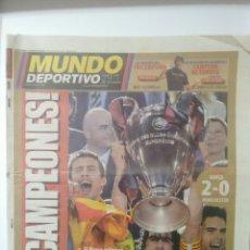 Coleccionismo deportivo: MUNDO DEPORTIVO ¡TRICAMPEONES!. Lote 64841330
