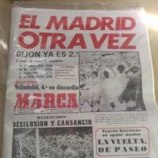 Coleccionismo deportivo: DIARIO MARCA REEDICIÓN DEL 10/05/1976 - REAL MADRID CAMPEÓN DE LIGA 1975/76. Lote 65850850