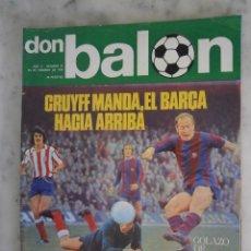 Coleccionismo deportivo: REVISTA DON BALON AÑO II Nº 21 - 1976. Lote 65900466