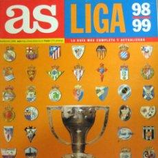 Coleccionismo deportivo: REVISTA EXTRA DIARIO AS GUIA LIGA 98-99 - ESPECIAL TEMPORADA 1998/1999. Lote 98684216