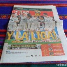 Colecionismo desportivo: MARCA Nº 14992. 22-4-12. F.C. BARCELONA 1 REAL MADRID 2. CON MOURINHO CAMPEÓN DE LIGA. . Lote 66111370