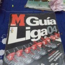 Coleccionismo deportivo: MARCA GUÍA LIGA TEMPORADA 2003 2004. B15R. Lote 66917614