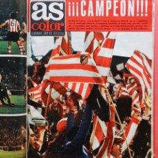 Coleccionismo deportivo: TOMO REVISTA AS COLOR - LOTE 18 REVISTAS CONSECUTIVAS Nº 102 AL 119 AÑO 1973 ATLETI CAMPEON LIGA 73. Lote 67097513