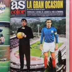 Coleccionismo deportivo: TOMO REVISTA AS COLOR - LOTE 17 REVISTAS CONSECUTIVAS Nº 120 AL 136 AÑO 1973 INCLUYE POSTERS 73. Lote 67107145