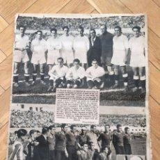 Coleccionismo deportivo: DIARIO AS 7 MAYO 1934 FINAL COPA PRESIDENTE DE LA REPUBLICA VALENCIA REAL MADRID CAMPEON. Lote 67166065
