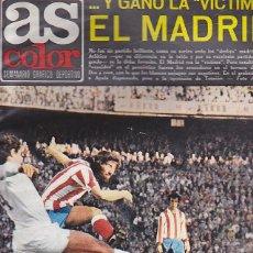 Coleccionismo deportivo: REVISTA DEPORTIVA AS COLOR Nº 148 CON CARTEL DE SELECCION NACIONAL DE FUTBOL DE SUECIA. Lote 67572521