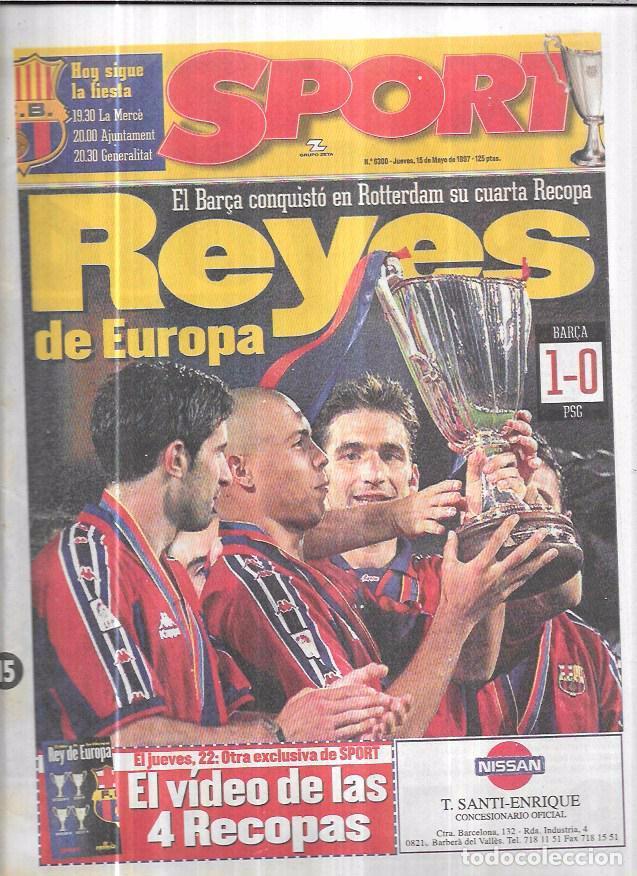 diario sport. 1997. nº 6300. el barça reyes de - Kaufen Alte ...