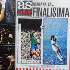 Coleccionismo deportivo: TOMO REVISTA AS COLOR - LOTE 16 REVISTAS Nº 155 AL 171 AÑO 1974 ATLETICO FINAL COPA EUROPA 74 POSTER. Lote 68438449