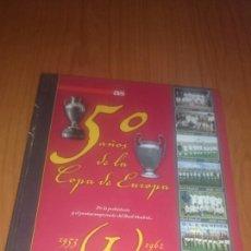 Coleccionismo deportivo: AS LIBRO ESPECIAL 50 AÑOS DE LA COPA DE EUROPA.. Lote 68546043