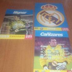 Coleccionismo deportivo: AS COLECCIÓN COMPLETA CALENDARIOS 1998 COMPLETA CON SU ESTUCHE MÁS 9 CALENDARIOS DISTINTOS AÑO 1999.. Lote 68548439
