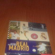 Coleccionismo deportivo: AS HISTORIA GRÁFICA DEL REAL MADRID COMPLETO A FALTA DE 6 LÁMINAS.. Lote 68558781