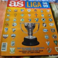 Coleccionismo deportivo: REVISTA EXTRA DIARIO AS GUIA LIGA 98-99 - ESPECIAL TEMPORADA 1998/1999 -. Lote 68812357
