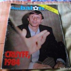Coleccionismo deportivo: FÚTBOL.REVISTA 'DON BALÓN' DEL 27 DE MARZO AL 2 DE ABRIL DE 1984 LA DE LA FOTO VER TODOS MIS LOTES . Lote 68814577