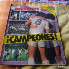 Coleccionismo deportivo: FÚTBOL.REVISTA 'DON BALÓN' CAMPEONES LA DE LA FOTO VER TODOS MIS LOTES DE REVISTAS. Lote 68815797