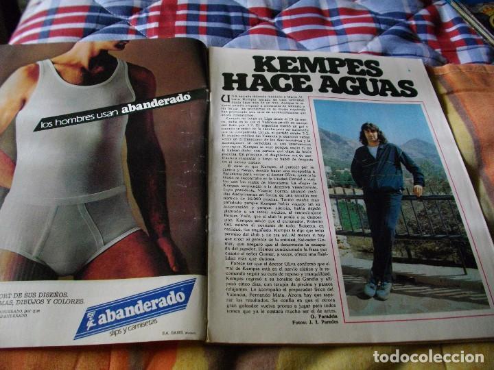 Coleccionismo deportivo: FÚTBOL.REVISTA DON BALÓN DEL 20 AL 26 DE MARZO DE 1984 . POSTER BILBAO ATH - Foto 2 - 68816213