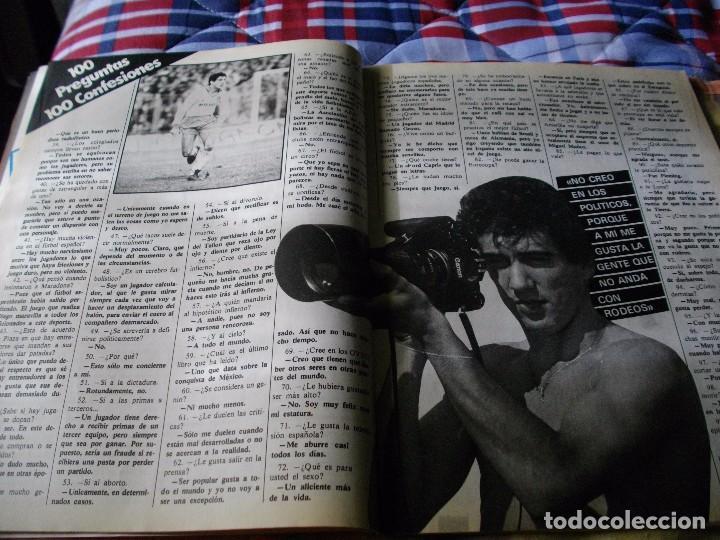 Coleccionismo deportivo: FÚTBOL.REVISTA DON BALÓN DEL 20 AL 26 DE MARZO DE 1984 . POSTER BILBAO ATH - Foto 3 - 68816213